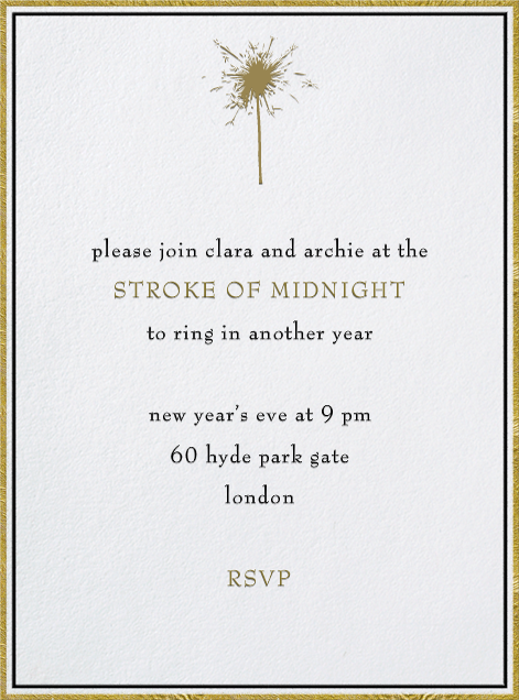 Pall Mall - Paperless Post - New Year's Eve