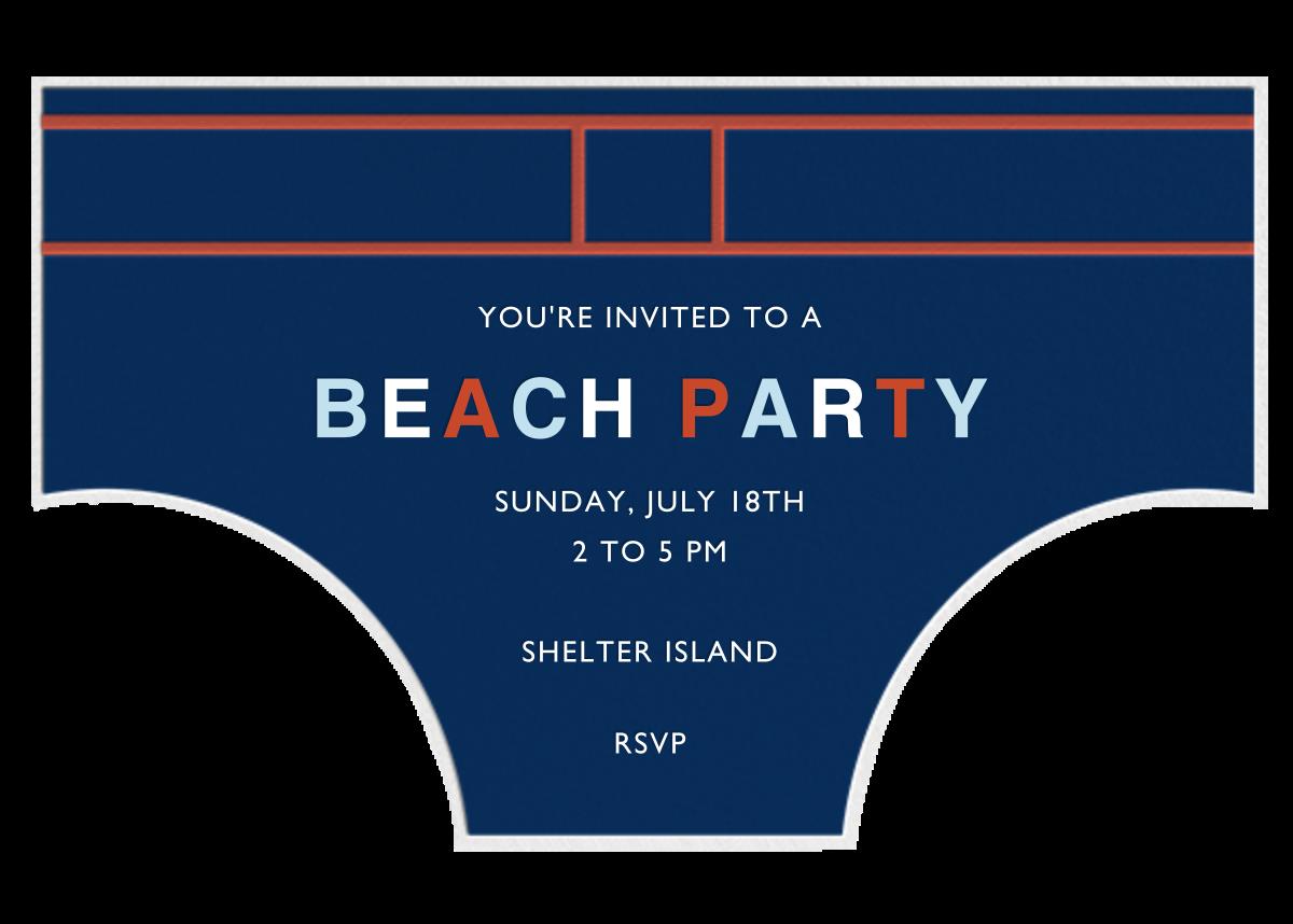 Seaside Skivvies - Jonathan Adler - Beach party