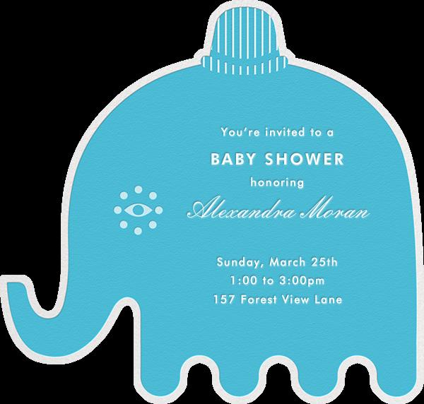 Circus Elephants - Blue - Jonathan Adler - Baby shower