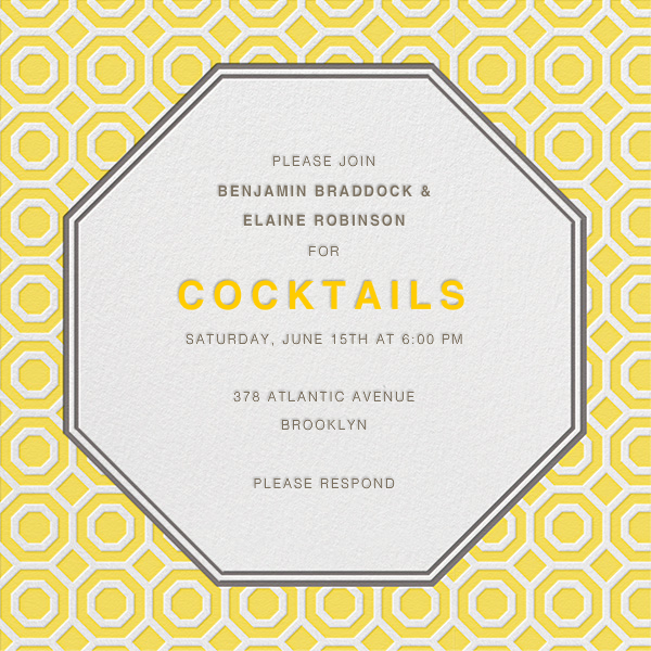 Nixon - Mustard - Jonathan Adler - Cocktail party