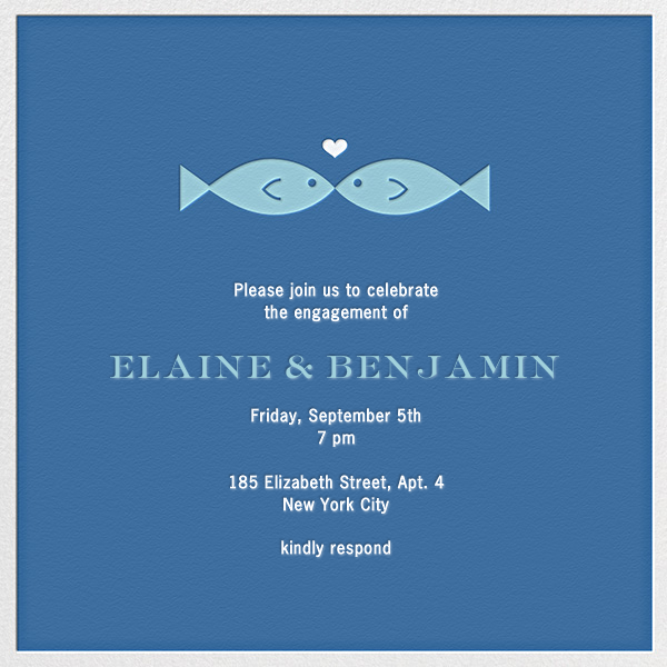 Fish Kiss - Jonathan Adler - Engagement party
