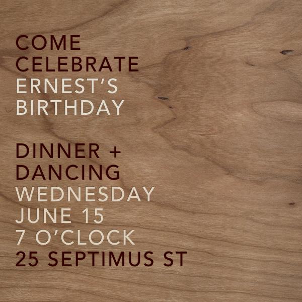 Wood Grain Light - Square - Paperless Post - Adult birthday