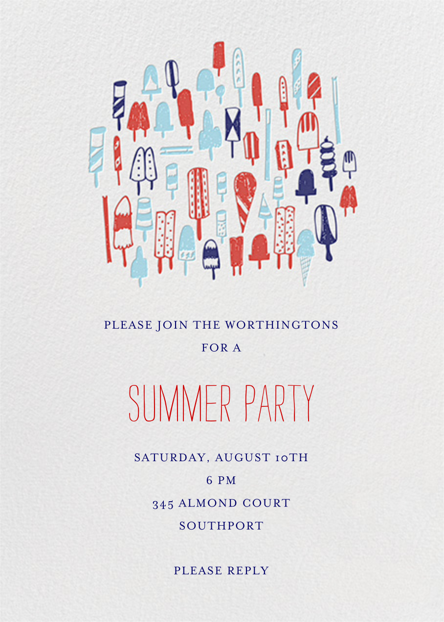 Lobster Bake - Primaries - Mr. Boddington's Studio - Summer entertaining