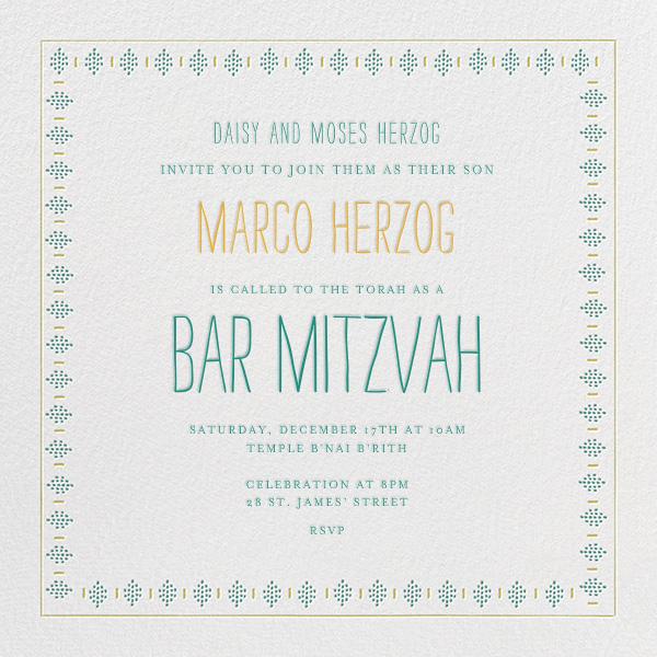 Sunburned Again - Greens Bar Mitzvah - Mr. Boddington's Studio - Bar and bat mitzvah