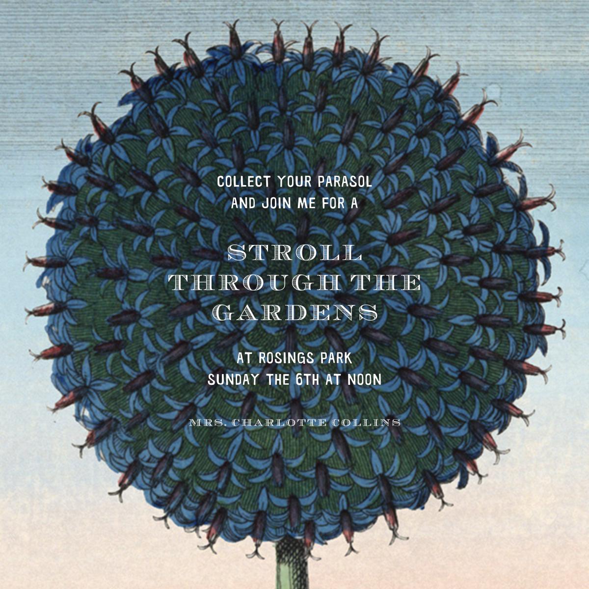 Blue Flower - John Derian - Spring entertaining
