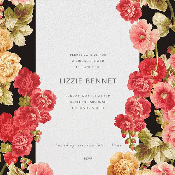 Garden Floral Ikat - Oscar de la Renta - Bridal shower