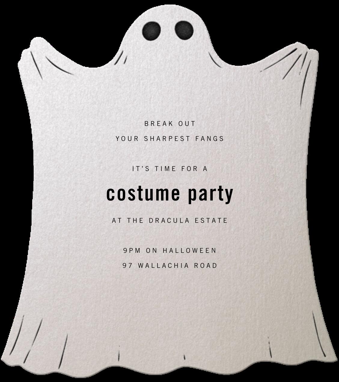 Ghost - Paperless Post - Halloween