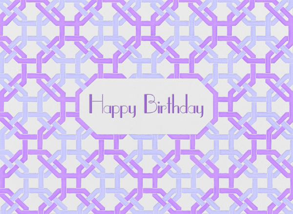 Octagon (Ivory) - Paperless Post - Free birthday eCards