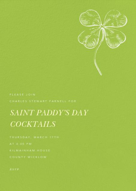 Charterhouse (Tall) - Paperless Post - St. Patrick's Day