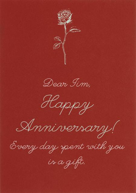 Crimson - Paperless Post - Anniversary