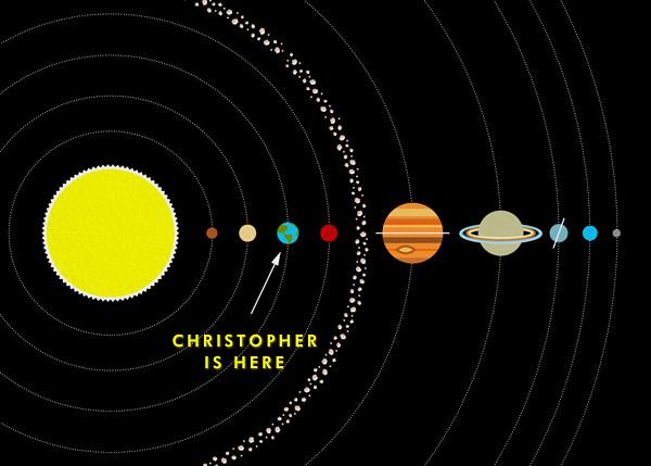 Solar System - Paperless Post - Birthday