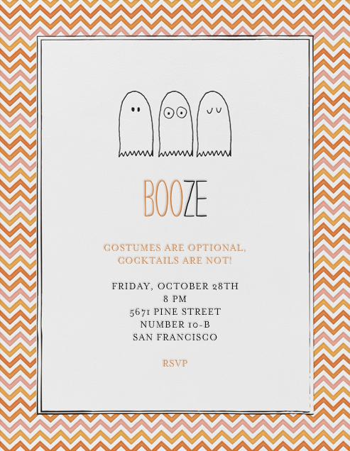 Boo or Booze - Mr. Boddington's Studio - Halloween