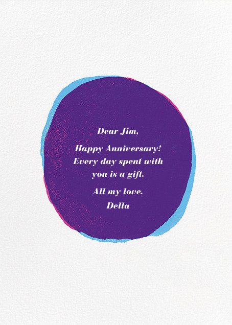 One Plus One Equals Three - Anniversary - Paperless Post - Anniversary cards - card back