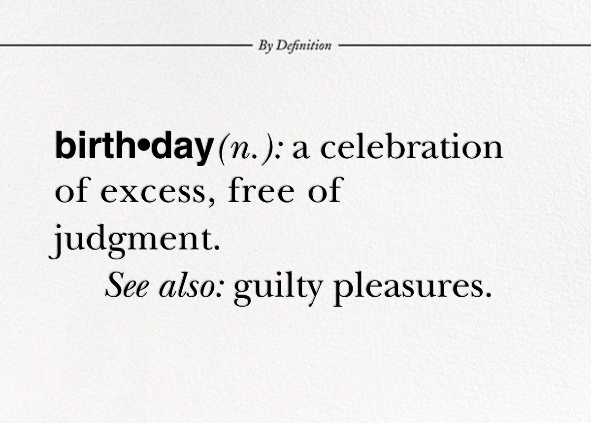 Birthday By Definition - Paperless Post - Birthday
