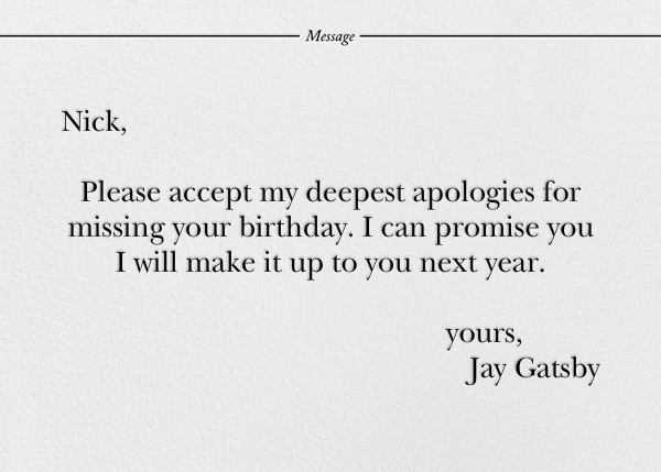 Belated By Definition - Paperless Post - Birthday - card back