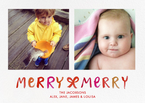 Merry Merry Ombre - Linda and Harriett - Linda & Harriett holiday