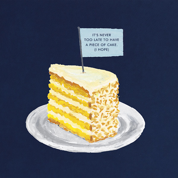 Slice of Cake - Paperless Post - Belated birthday cards