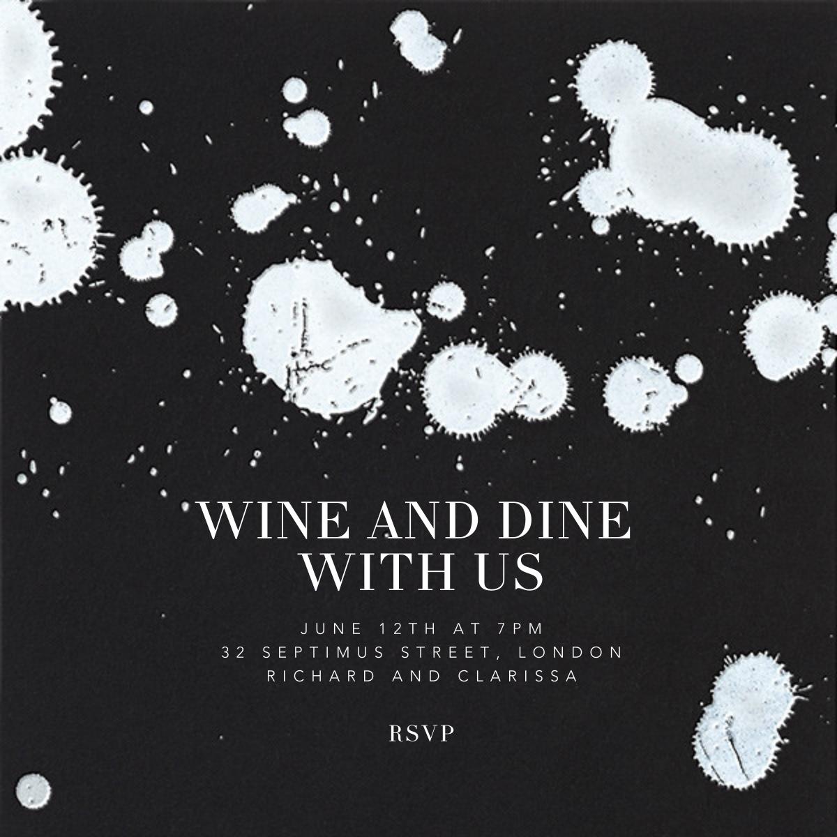 Schizzata - Black/White - Kelly Wearstler - Cocktail party