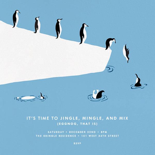 Polar Bird Club - Paperless Post - Holiday party