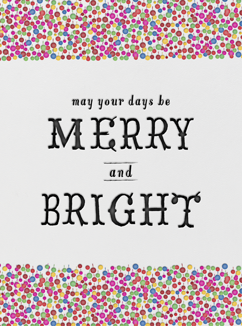 Merry and Bright - Mr. Boddington's Studio - Holiday cards