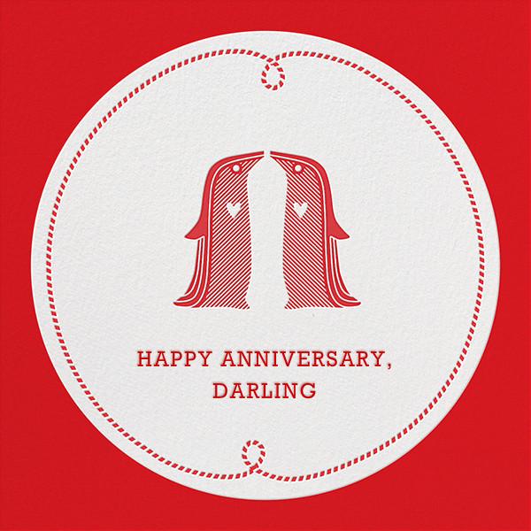 Penguin Love ll - Jonathan Adler - Anniversary