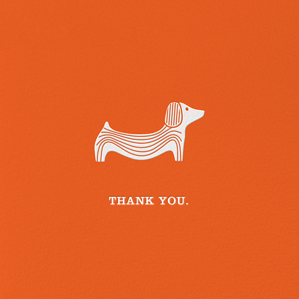 Doxie - Jonathan Adler - Thank you