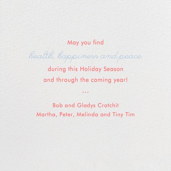 Santa's Map - Paperless Post - Christmas - card back
