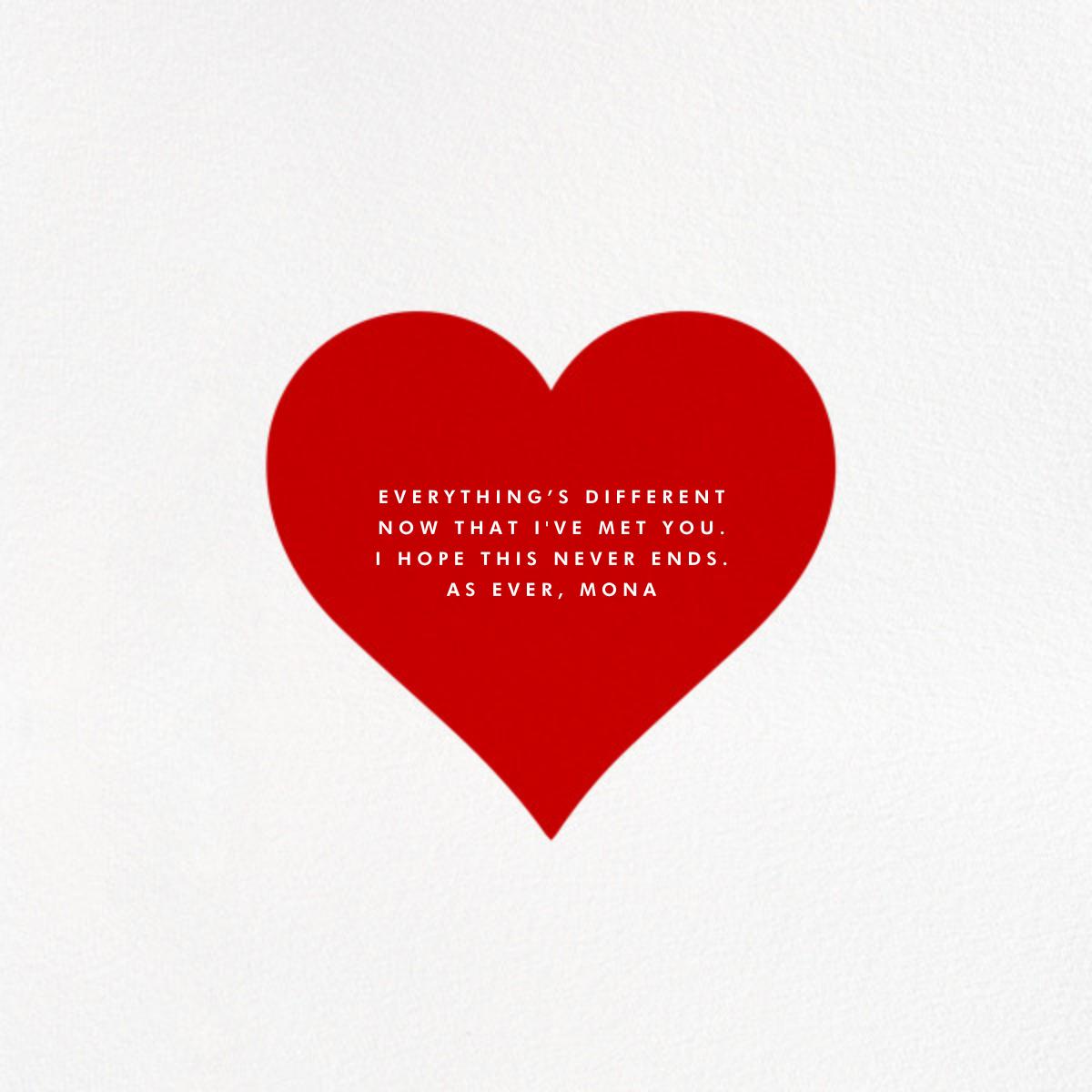 Heart Line (Photo) - White - Paperless Post - Back
