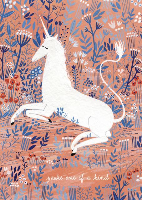 Unicorn (Yelena Bryksenkova) - Red Cap Cards - Love cards