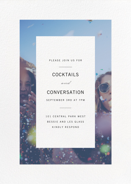 Relative - Paperless Post - Cocktail party
