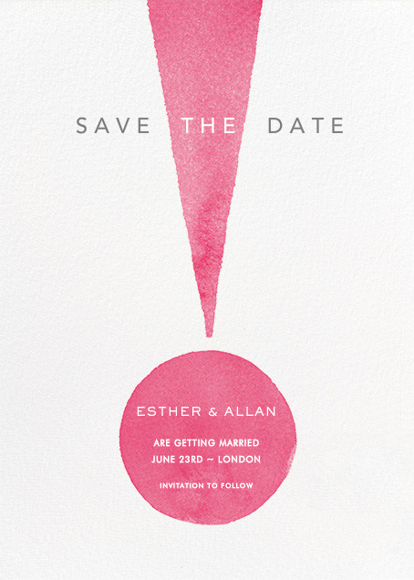 Forte - Paperless Post - Party save the dates