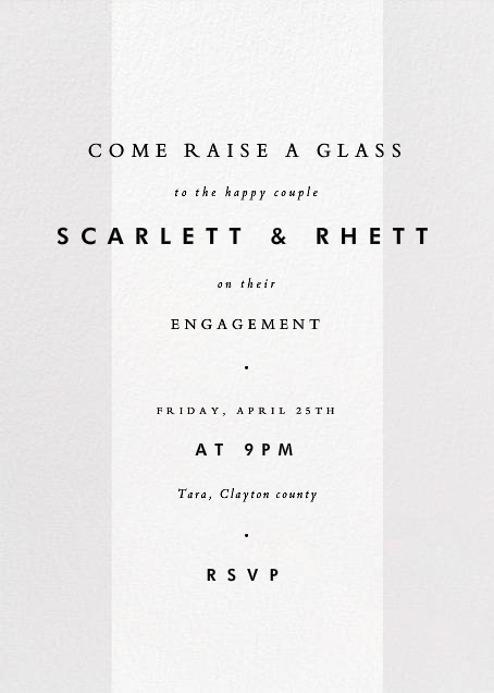 Quarto - Paperless Post - Engagement party