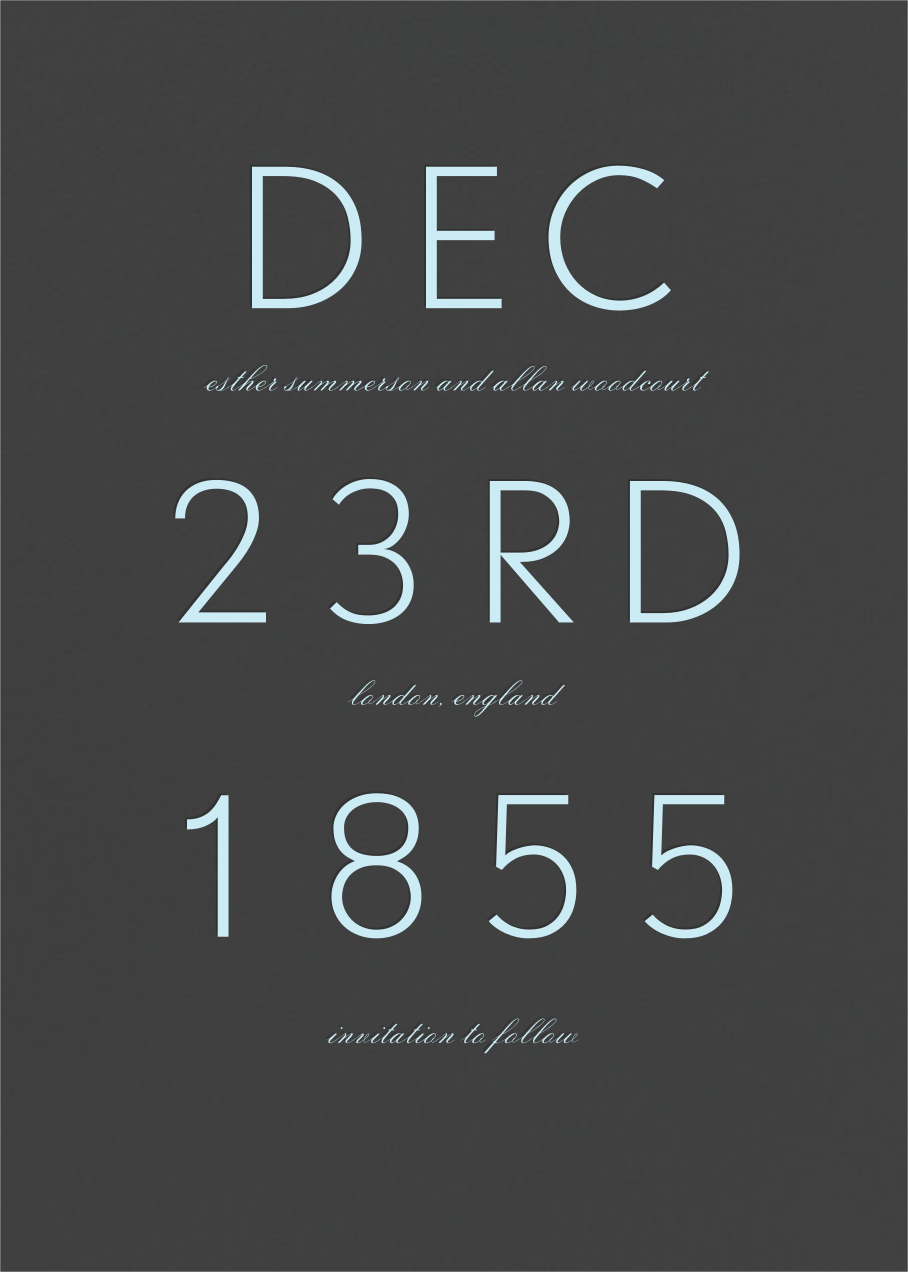Diem - Paperless Post - Save the date