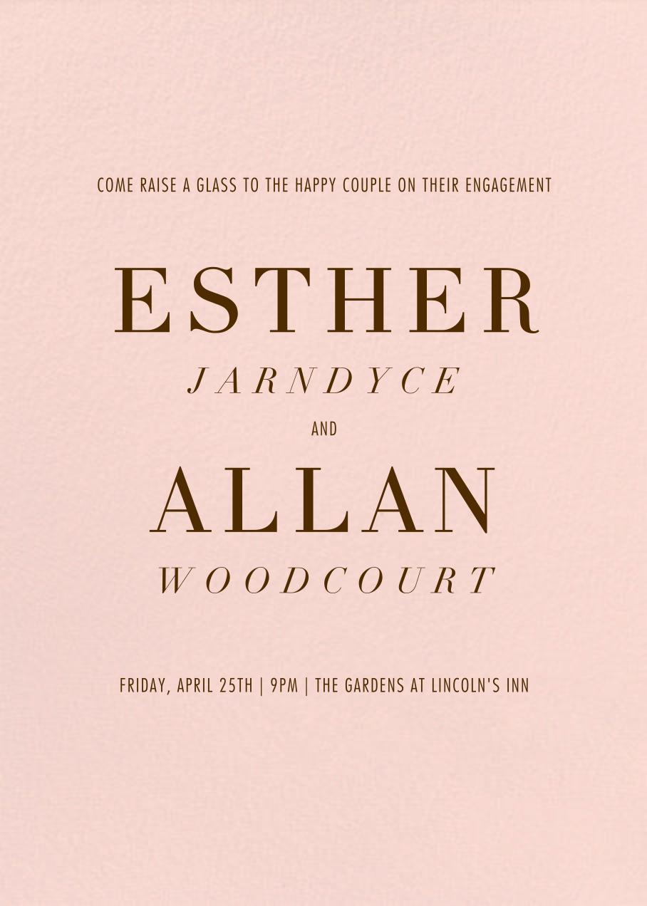 Ette - Pavlova - Paperless Post - Engagement party
