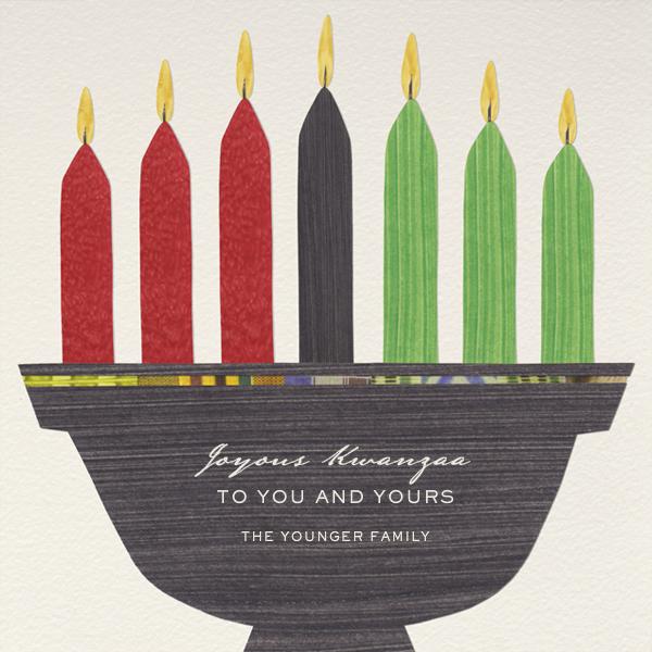 Kwanzaa - Seven Candles - Paperless Post - Kwanzaa