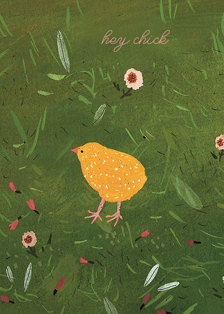 Baby Chick (Becca Stadtlander) - Red Cap Cards - Just because
