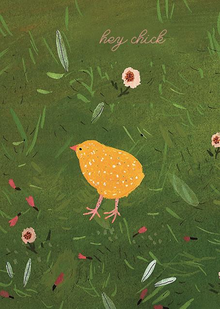 Baby Chick (Becca Stadtlander) - Red Cap Cards