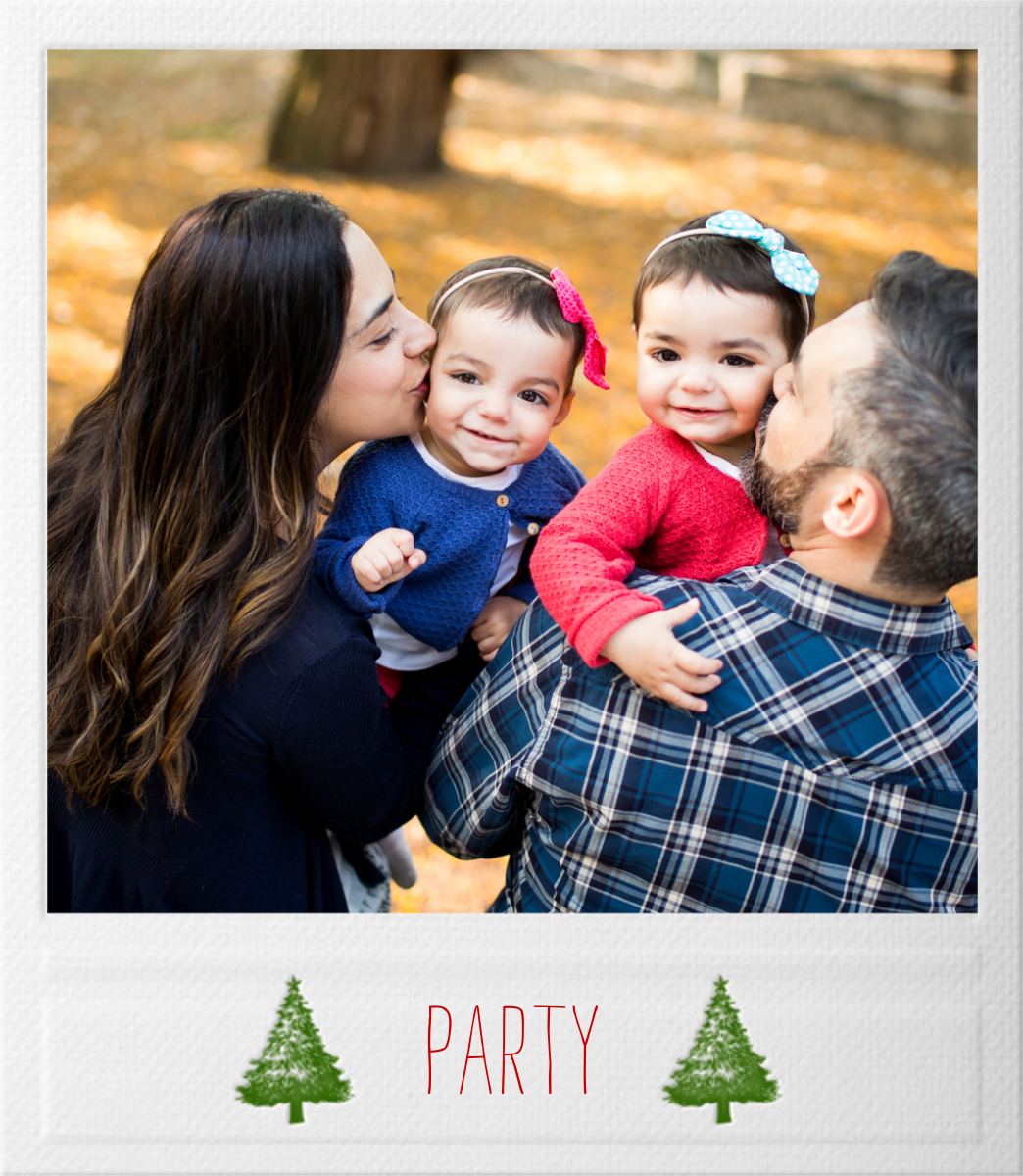 Snapshot - Trees - Paperless Post - Christmas party