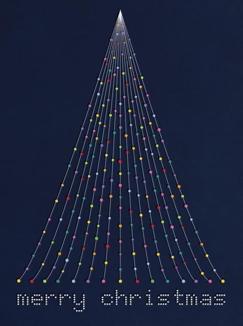 Dot Tree - Paperless Post - Christmas