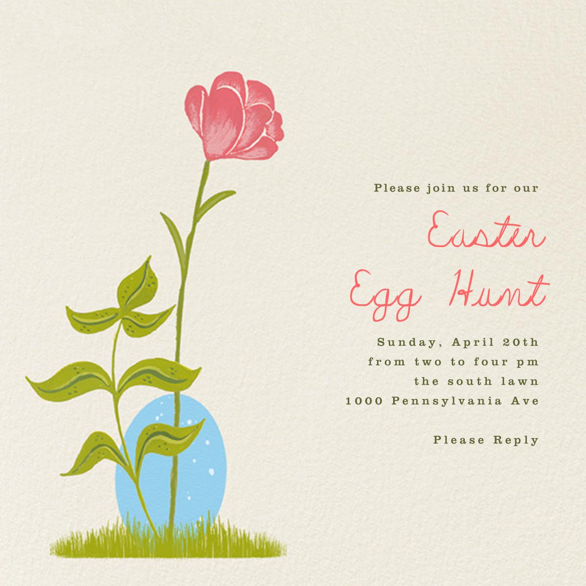 Hidden Egg - Paperless Post - Easter