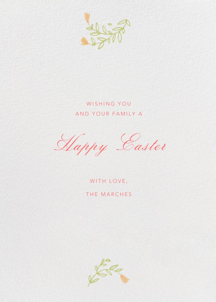 Egg Vine Photo - Paperless Post - Back