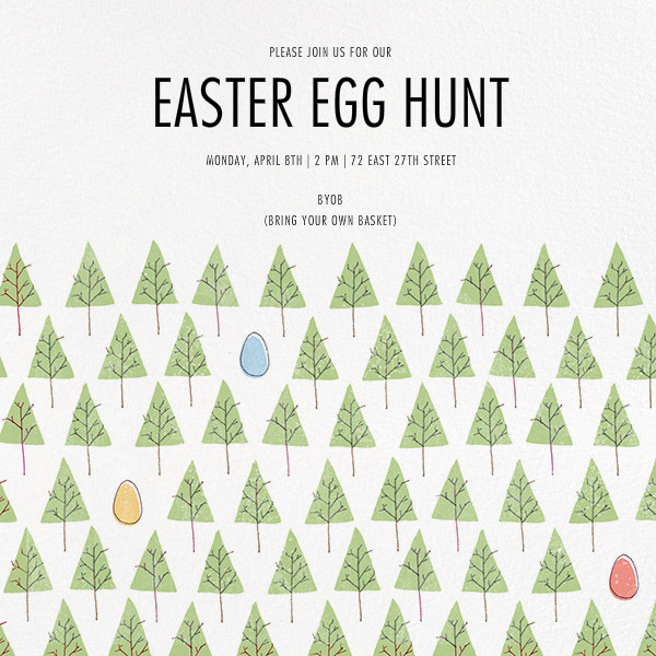 Lost in a Forest - Paperless Post - Easter