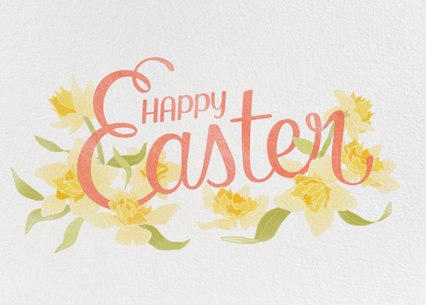 Easter Daffodils - Paperless Post