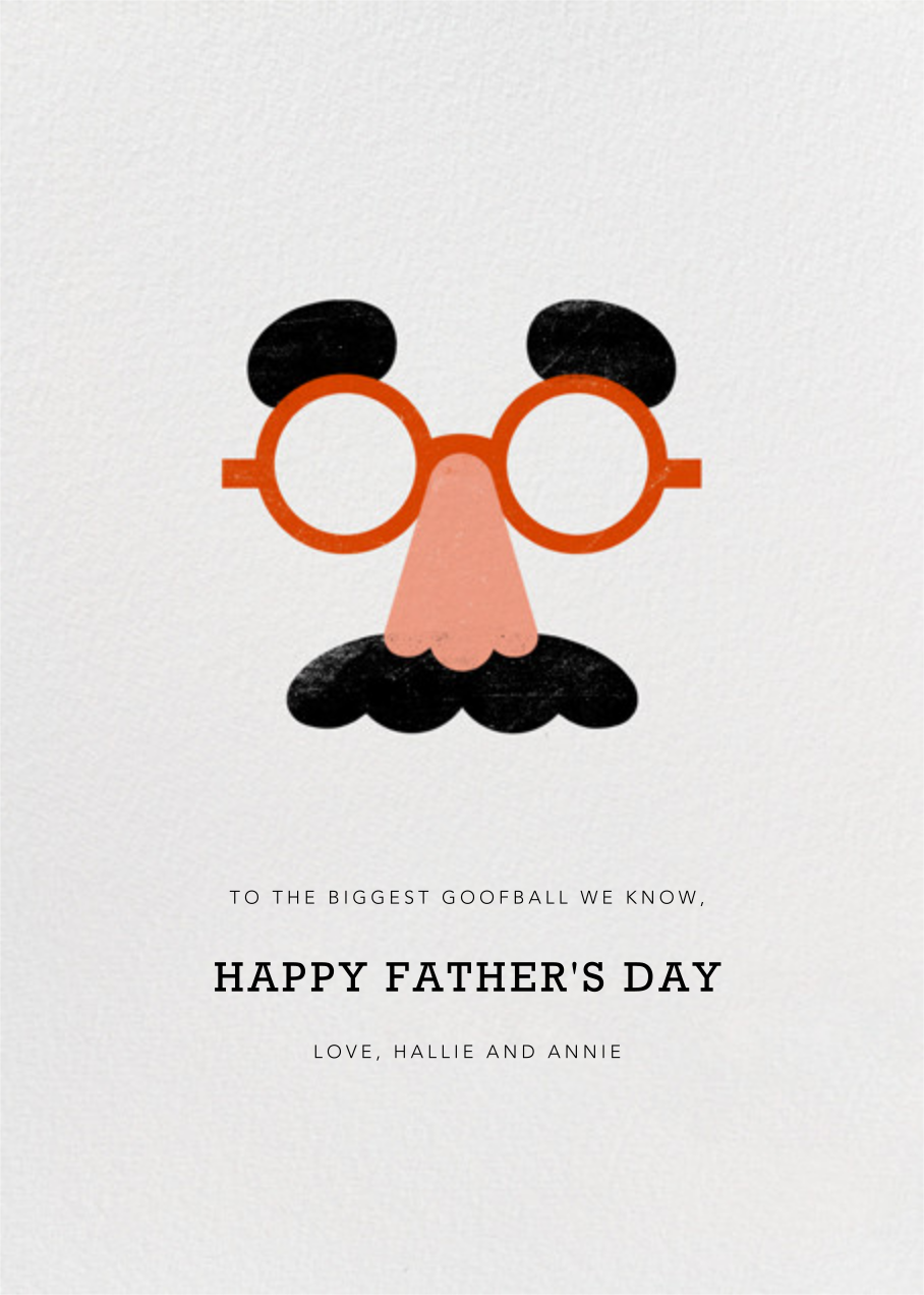 Goofball - Paperless Post - Father's Day