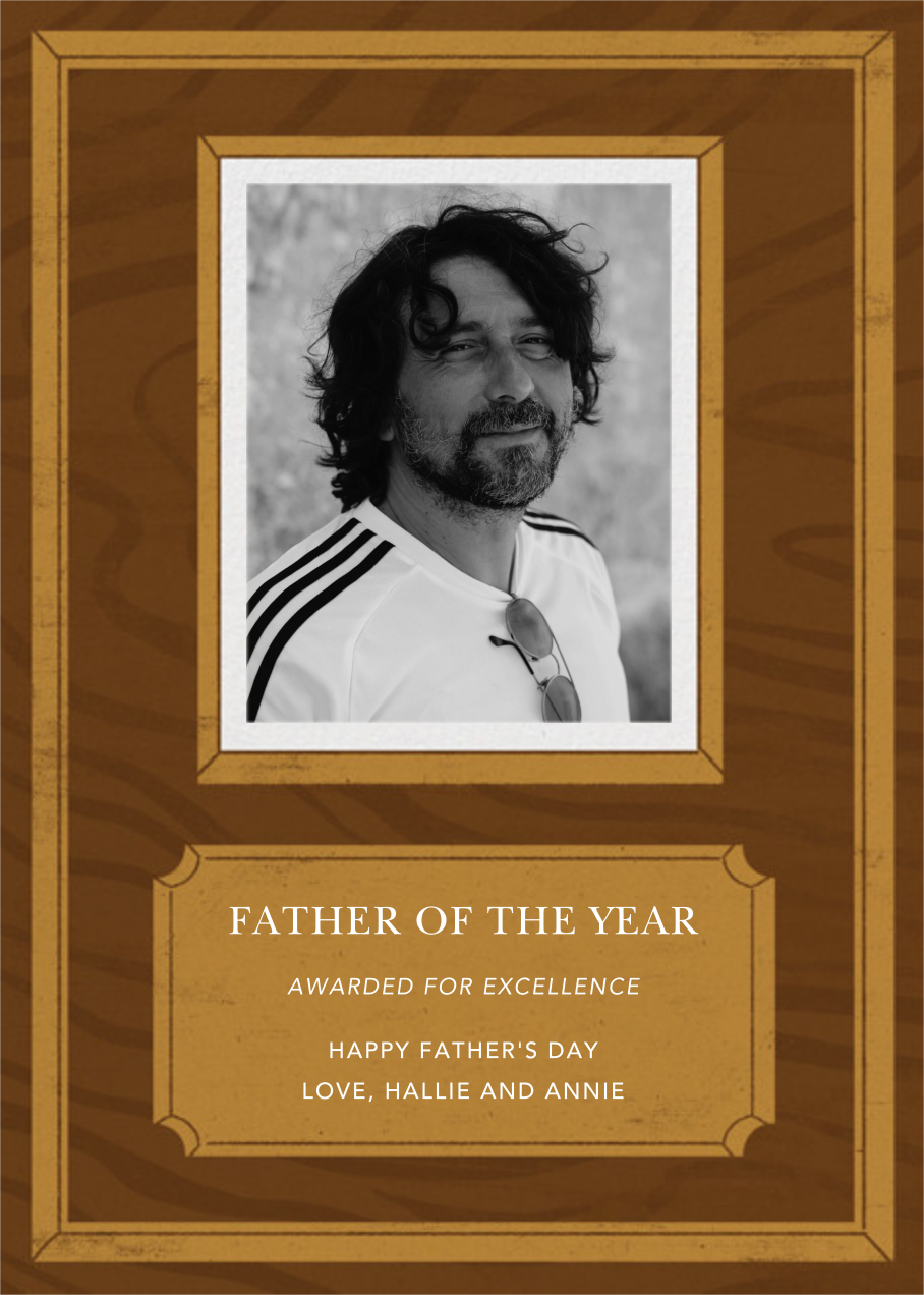 Employee of the Month - Paperless Post - Father's Day