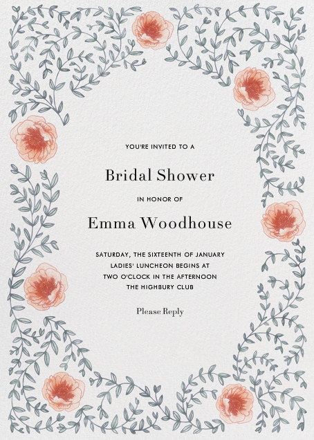Sylvia II - Paperless Post - Bridal shower