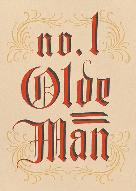 Olde Man - Paperless Post - Father's Day