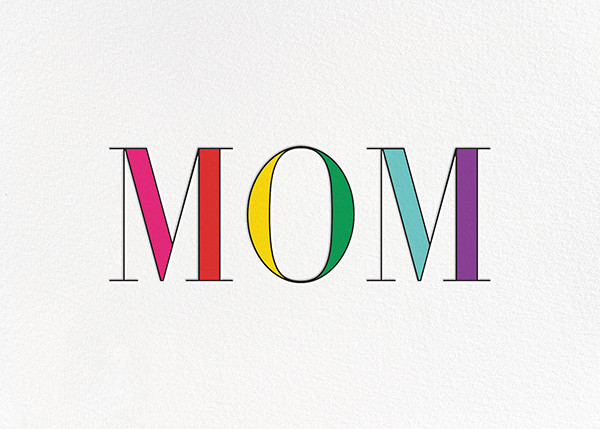 Rainbow Mom  - kate spade new york - Mother's Day