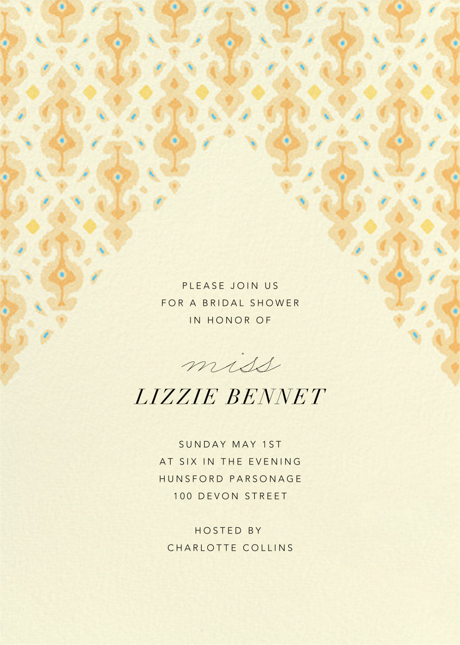 Ourain - Paperless Post - Bridal shower