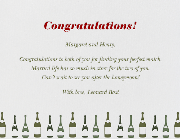 Congratulations - Paperless Post - Congratulations - card back